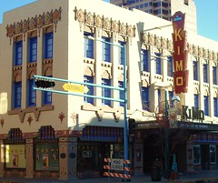 Kimo theater celebrating 100 years (austin tx) Tags: route66 albuquerque newyearseve2011
