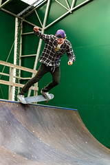 (Chrisseb) Tags: sport photography photo cool ramp sweden pipe dude photograph skate skateboard inside skater trick grind malung