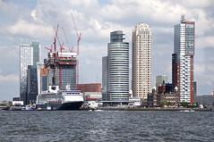 Wilhelminaplein, Rotterdam, NL (Joey Johannsen) Tags: urban skyline architecture modern construction rotterdam nl maas wilhelminaplein msrotterdam portofrotterdam portcity manhattanaandemaas