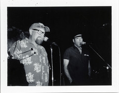 Polaroid_07101204e (Mark Dalzell) Tags: camera party bw white black film bar polaroid jones weird fuji mark anniversary nj iso pack xray automatic land fujifilm moran 3000 hoboken 20th 250 maxwells weirdnj fp3000b fb3000b fp3000 sceurman