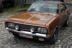 Opel Commodore GS (pilot_micha) Tags: auto car germany bayern deutschland bavaria juli deu opel 2012 unterfranken oldtimertreffen opelcommodoregs rhöngrabfeld fladungen 872012 commodoregs
