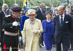 The Queen and Duke of Edinburgh go for a walk on Tay Street, Perth (P&KC Archive) Tags: perthshire perth dukeofedinburgh queenelizabeth thequeen scotlanduk diamondjubilee lordlieutenant meljamieson