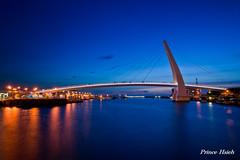 - Night view of Danshuei Lovers Bridge - Danshuei Fisherman's Wharf - New Taipei City (prince470701) Tags: taiwan fishermanswharf nightview    loversbridge danshuei   sonya850 newtaipeicity sony1635za
