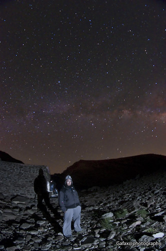 Mulhacen Milky way and me