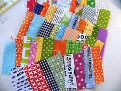 on my table ... (monaw2008) Tags: handmade fabric colourful scraps patchwork applique utensilo monaw monaw2008