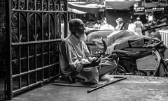 Livin on a prayer (Ibaad Lari) Tags: beggar empressmarket blindman