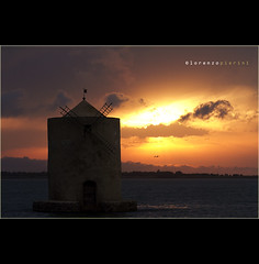 #134_2  ::  orbetello (CiuPix) Tags: sunset sea summer sky italy nature italia tramonto mare estate cielo gabbiano mulino 2012 scogli isoladelgiglio ciupix canoneos7d mygearandme flickrnova lorenzopierini wwwlorenzopierinicom