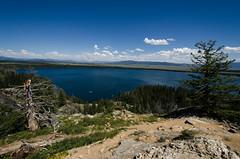 USA 2012 (sharky-san) Tags: park usa lake jenny grand national yellowstone teton inspirationpoint 2012 hiddenfalls