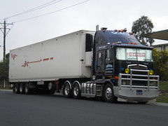 Cardoma Kenworth K108 Aerodyne (KW BOY) Tags: tractor truck prime cab transport over australian melbourne semi lorry rig hauling express coe mover trucking kw 2012 kenworth haulage aerodyne refridgerated k108 cardoma