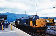 37416 at kyle of lochalsh (47604) Tags: station logo scotland large kyleoflochalsh class37 37416 37302
