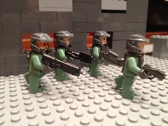 Lego Halo Reach Marines (brickproductions) Tags: lego halo marines reach