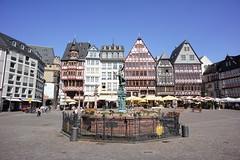 Frankfurt am Main Rmer (barnyz) Tags: urban skyline architecture germany cityscape frankfurt sony main 16mm hesse nex3