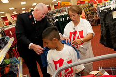 Glendale Target School Spree (Salvation Army USA West) Tags: school shop kids shopping children corporate kid child target volunteer shoppingspree