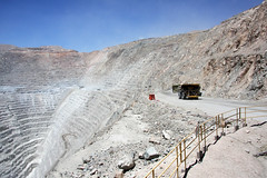 Chuquicamata copper mine, Calama, Chile (sensaos) Tags: south america zuid amerika chili chile chuquicamata mine mining industry industrial copper mina de cobre coppermine industria sensaos