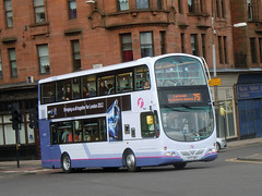 First Glasgow - SF57 MKV (37217) (MSE062) Tags: new bus eclipse volvo glasgow first double wright gemini decker mkv livery 37217 b9tl sf57 sf57mkv