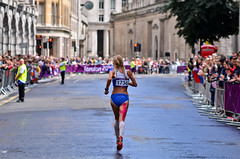 London 2012 women Marathon: Leena Puotiniemi (Alexandre Moreau | Photography) Tags: road portrait london race finland photography women photos kenya russia marathon victory effort ethiopia 2012 cheapside london2012 olypics gelana leenapuotiniemi wwwalexandremoreauphotocom