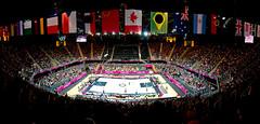 Australia v Great Britain - Basketball Stadium, Olympic Park [Explored] (jp3g) Tags: panorama sport stadium australia panasonic gb olympics g3 london2012 greatbritian