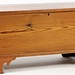 32. Antique Pine Blanket Chest