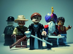 The League of Extraordinary Gentlemen (R D L) Tags: lego invisibleman mrhyde captainnemo minaharker leagueofextraordinarygentlemen allanmoore allanquatermain