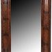 52. 19th century Mahogany Ogee Wall Mirror
