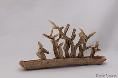 La piragua (el barquero de árboles)