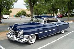50 Cadillac (DVS1mn) Tags: new london cars car silver gm brighton antique anniversary run cadillac era 50 brass luxury 1950 caddy 26th generalmotors nineteenfifty nlnb nlnbacr