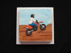 Motorcross (creations and celebrations) Tags: cake dirtbike scrambler