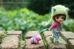 Runnnnnn!!! (LoveOnTheRox!) Tags: alpaca doll handmade ooak crochet helmet belle bjd resin flea 8mm 42 abjd latidoll kidsilk faceup lati latiwhite enchanteddolleyes loveontherox viridianhouse carlabenham cuteandthings carlascouture hairieshelmet