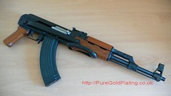 AK 47 Side (PureGoldPlating) Tags: goldplated goldplating explosivedevices goldguns goldplatedfirearms goldplatedgrenades goldexplosives goldplatedweapons