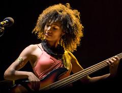 Esperanza Spalding (TheWalkinMan) Tags: portrait musician live afro jazz vocalist bassist esperanzaspalding 2012rochesterinternationaljazzfestival