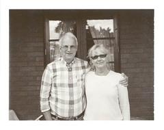 Parents (ppnl) Tags: portrait bw film sepia analog polaroid rangefinder instant expired epsonv700 polaroid600se roidweek iso1500 mamiya127mmf47 exp102009 roidweek2012