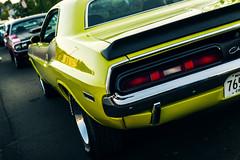 Dodge Challenger (Garret Voight) Tags: show street hot classic car minnesota vintage automobile muscle antique historic retro chrome american dodge rod saintpaul challenger