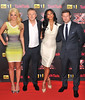 Dermot O'Leary, Louis Walsh, Tulisa Contostavlos, Nicole Scherzinger The X Factor - press launch held at the Corinthia Hotel. London, England