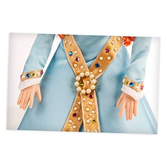 LE 17'' Merida and Queen Elinor Doll Set - Upcoming Release - Product Image #8 - Merida Dress Detail #2 - Jeweled Sashes and Cuffs (drj1828) Tags: set store doll princess images disney queen le merida product limitededition 2500 upcoming preview 17inch elinor
