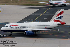 British Airways - G-EUPP (Pl Leiren) Tags: plane germany am airport hessen frankfurt aircraft aviation main airplanes september planes airbus british airways 2009 fra frankfurtammain a319 planespotting eddf a319131 geupp