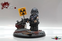 Clayton Carmine - Gears of War 3 (.mclovin.) Tags: detail brick stand war clayton apocalypse games clay workshop minifig gears affliction carmine minifigure apoc gow brickaffliction