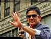 Anil Kumble at the India Day Parade in NYC