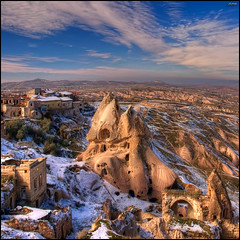 (1475) Cappadocia (QuimG) Tags: paisajes turkey geotagged golden landscapes olympus cappadocia paisatges specialtouch quimg quimgranell joaquimgranell afcastell obresdart