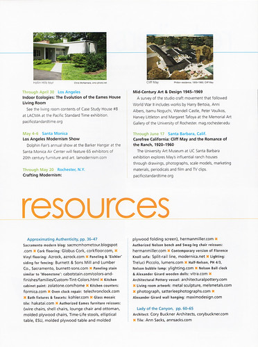 Atomic Ranch Issue 33: Spring 2012 Resources