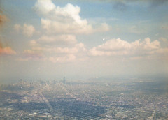 Chicago (scott w. h. young) Tags: city sky sun chicago love film clouds 35mm