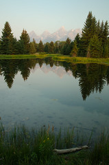 Tetons Reflection (Marc Seeger Photography) Tags: mountains reflection water teton