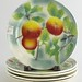 187. French Majolica Fruit Plates