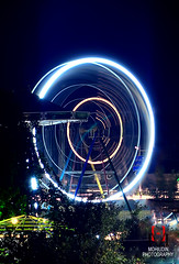 Wheel! (Hassan Mohiudin) Tags: sky circle long exposure ride peshawar funland scrapper tadium