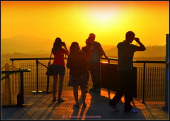 Sun Watchers Watching  Sun In..It's .Golden Hour...!. (Sunciti _ Sundaram's Images + Messages) Tags: california sky usa yellow sunrise losangeles astronomy 1001nights silhoutte sow smorgasbord kaledioscope 5photosaday sunsunset beautifulexpression abigfave impressedbeauty flickraward flickerdiamond inspirationhappiness concordians natureselegantshots rubyphotographer fabulousflicks spiritofphotgraphy mallimixstaraward elitephotgraphy artofimages nationalgeographicexpplorer griifthsobservatory