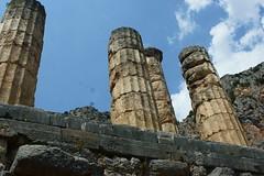 Delphi (Δελφοί) Greece, Aug 2012. 05-149c (megumi_manzaki) Tags: archaeology greek ancient delphi greece worldheritage delphoi