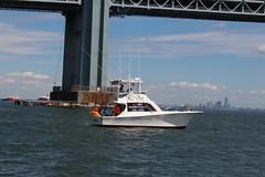 IMG_0402 (dutchmazz) Tags: ocean new york city nyc bridge urban beach water brooklyn swimming swim island harbor open fort hamilton narrows staten wadsworth verrazanonarrows