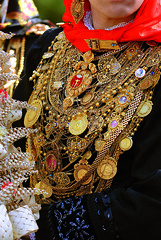Typical Costume with Filigree Jewellery