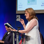 Janice Galloway at the Scottish Mortgage Investment Trust book awards