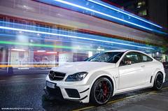 Night.. (Manuel Magaa) Tags: uk black london car photography mercedes benz nikon awesome super spot exotic series spotted supercar spotting expencive sportscar amg 2012 supercars 18105 spotter hypercar c63 worldcars d7000 2012london