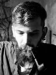- (Jan Szymon) Tags: pipe smoking smoker pipesmoker